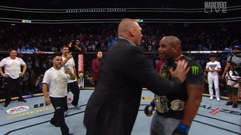 Will Cormier get his revenge on Lesnar for his post-match push?