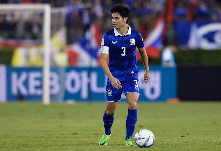 Theerathon Bunmathan will like to lead Thailand in the Asian Cup and carry on the momentum.