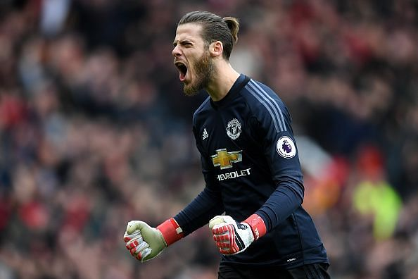 One of the all-time greats in-between the sticks. David De Gea is undoubtedly one of the best goalkeepers in recent history and would go down as one of the best ever.