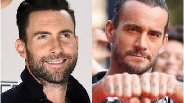 CM Punk is currently spending his time away from pro-wrestling, & Adam Levine sings lead for Maroon 5