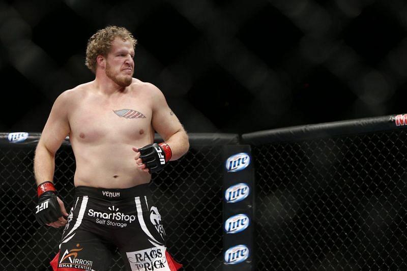Jared Rosholt has been forgotten despite a 6-2 UFC record