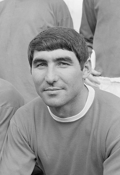 Tony Dunne played as the left-back in the Manchester United team of the 60s