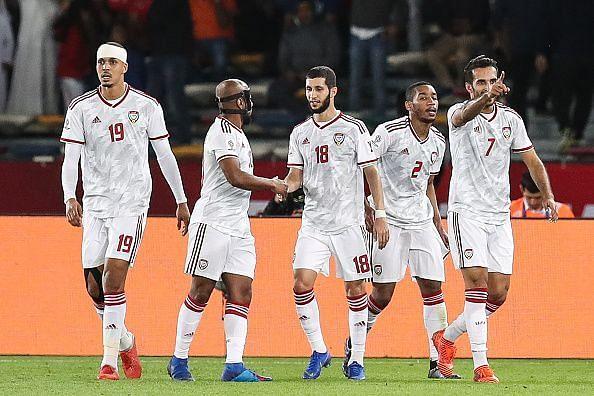 UAE emerged victorious at the Zayed Sports City Stadium