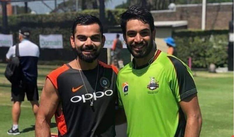 Kohli was seen hitting the nets hard ahead of the Sydney Test