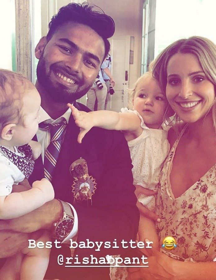 Pant with Tim Paine