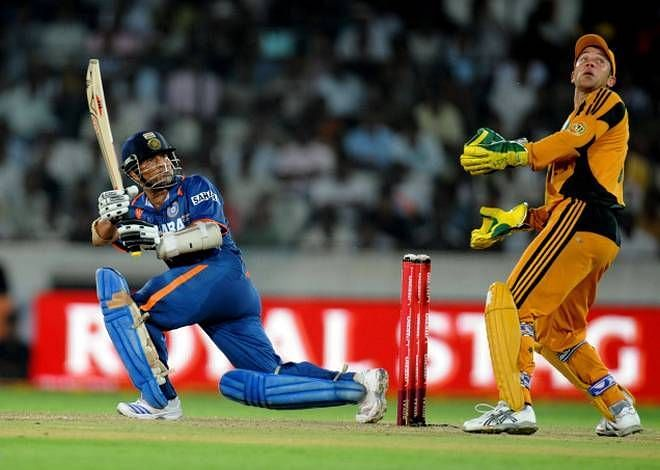 On the 5th of November 2009, Sachin Tendulkar deluded all those who watched him into believing that the concept of time did not apply to him