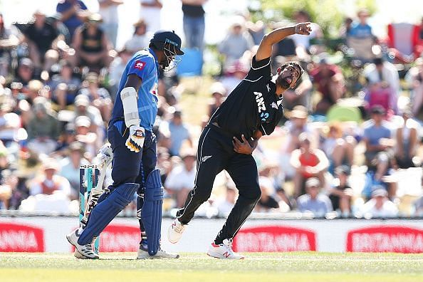 New Zealand v Sri Lanka - ODI Game 3