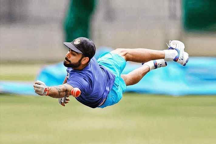 Virat Kohli is currently one of the fittest crickter in the world