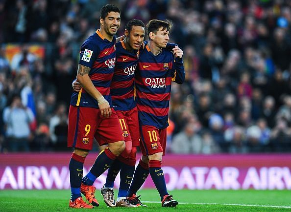 MSN was one of the most feared attacking tridents in the history of football