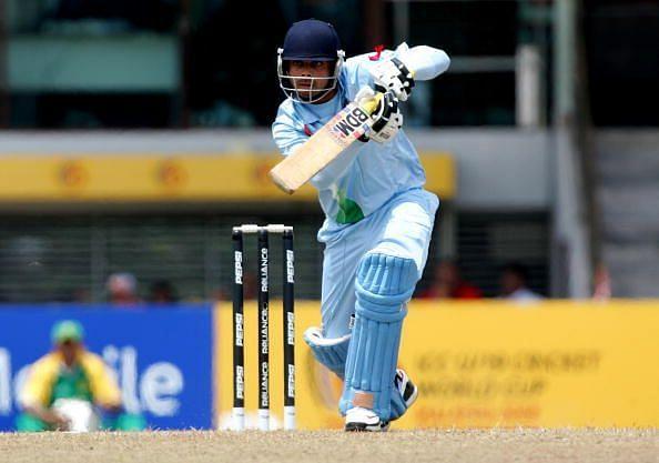 कोहली अंडर-19 टीम के लिए नंबर तीन पर बल्लेबाज़ी करते हुए