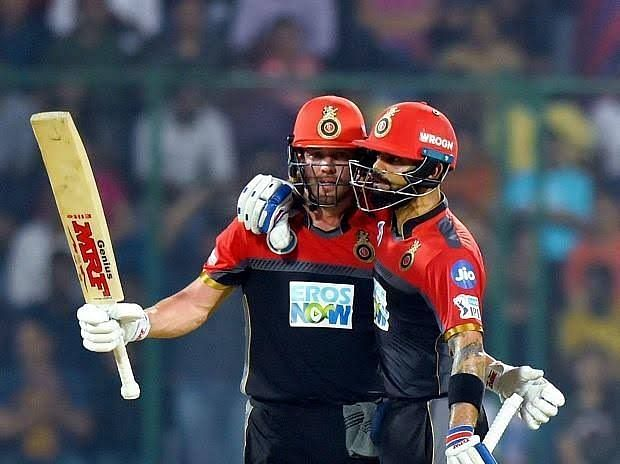RCB scored 263 vs PWI