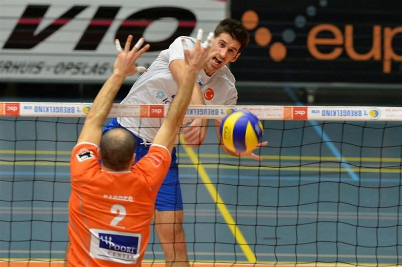 Tomislav Coskovic played for Galatasaray in Turkey recently (Pic Courtesy - @VolleyMob)