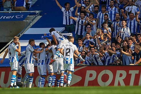 Real Sociedad will have a tough match against a team high on confidence after their victory against Real Madrid last weekend.