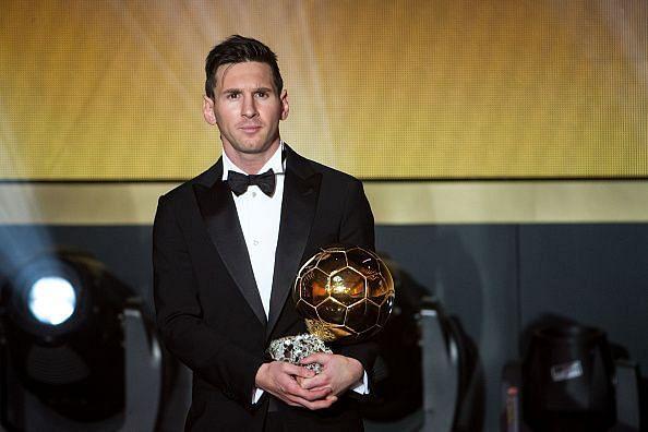 Lionel Messi won four Ballons d