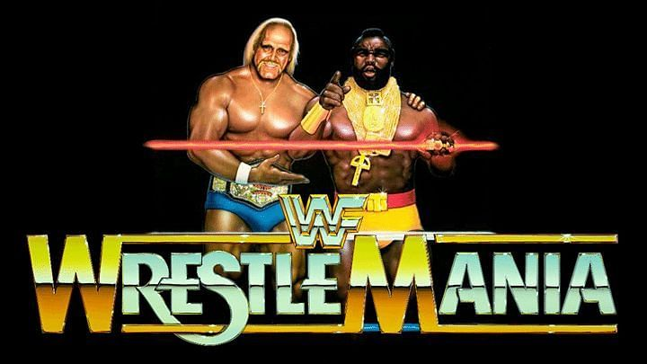 Wrestlemania I was the biggest wrestling event hosted at the time.