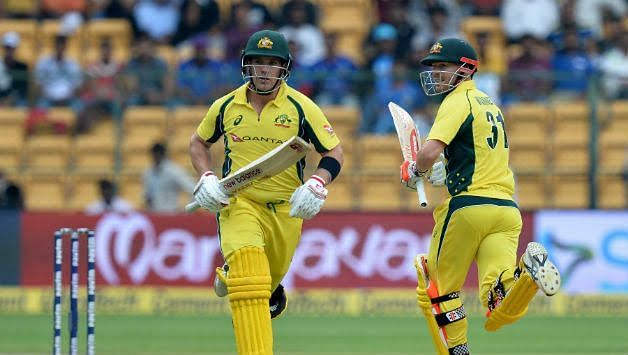 Aron Finch And David Warner