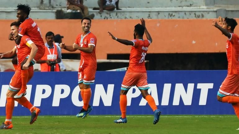 Chennai City FC let slip a three-goal lead
