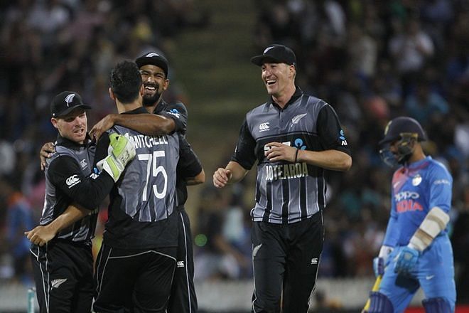 New Zealand won the match by 4 runs