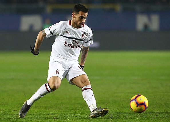 Suso will be a big miss for AC Milan