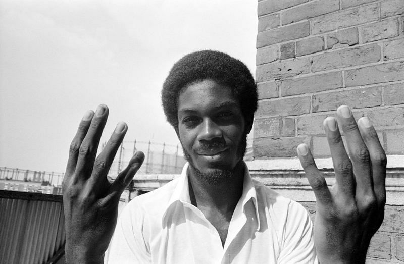Michael Holding was a fearsome fast bowler