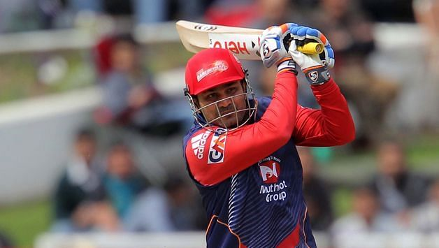 Virender Sehwag scored a century in Ishan Malhotra