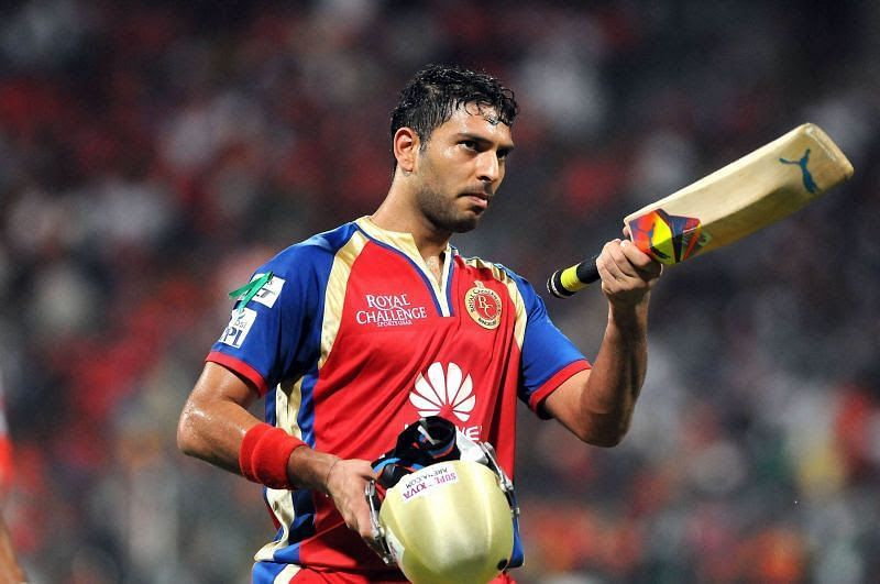 Yuvraj Singh performed brilliantly during his only season for the Royal Challengers Bangalore