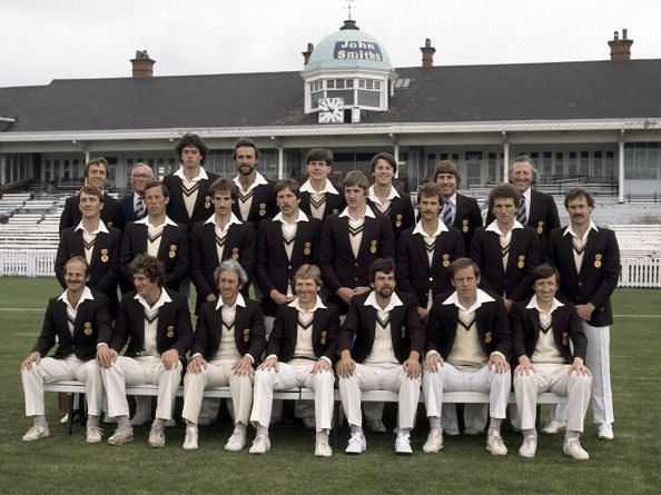 Alan Hill (First from right in the first row)