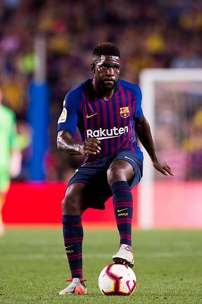 Samuel Umtiti is finally fit and available for FC Barcelona