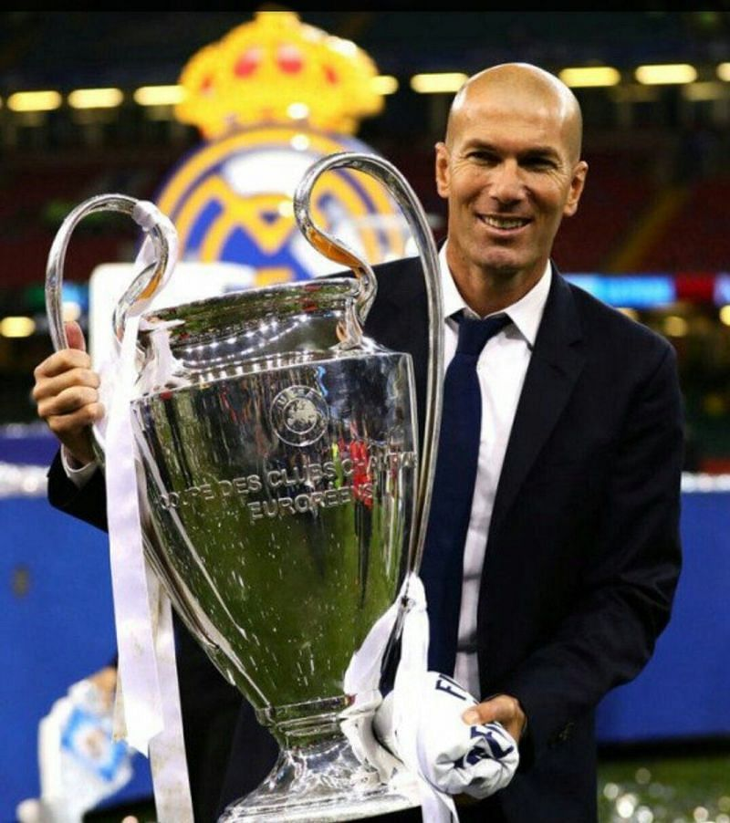 Zinedine Zidane is the only manager to win three consecutive Champions League titles.