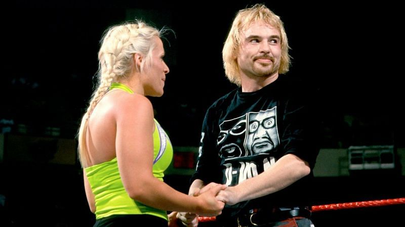 Molly Holly and Spike Dudley