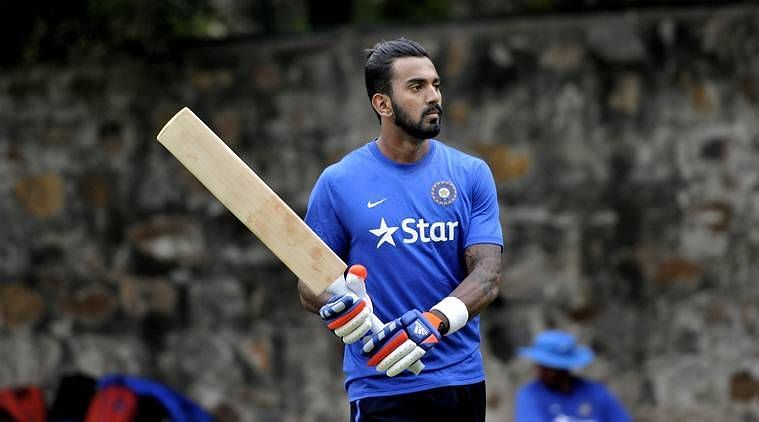Image result for k.l rahul  playing