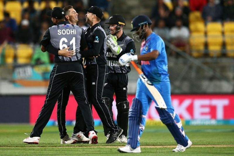 Newzealand Cricket Team India Cricket Team