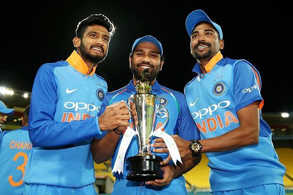 India dominated New Zealand in a one-sided victory over the hosts