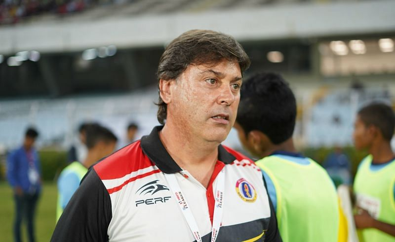 Alejandro Menendez was roped in by East Bengal at the beginning of the season