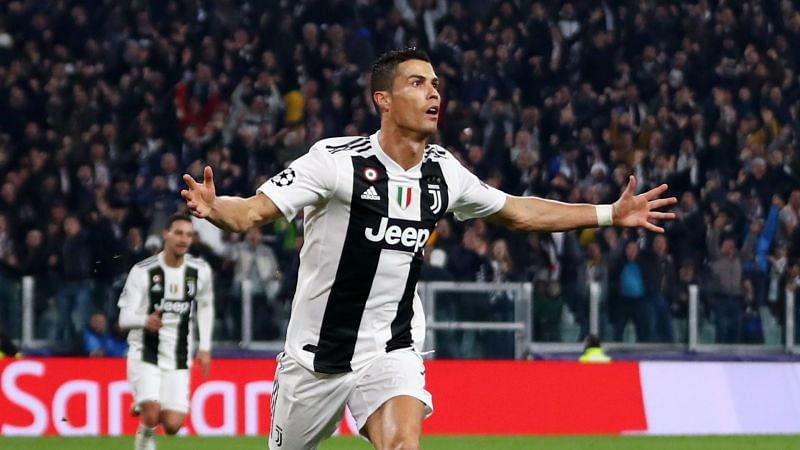 Cristiano Ronaldo now leads in both goals and assists in Serie A this season
