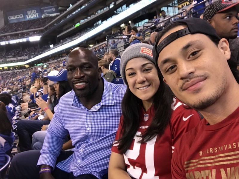 Bayley attended an Indianapolis Colts