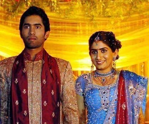 दिनेश कार्तिक अपनी पहली पत्नी निकिता के साथ