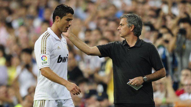 Jose Mourinho has previously coached Cristiano Ronaldo at Real Madrid