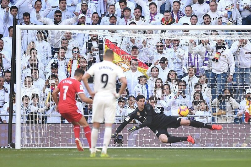Real Madrid lost 2-1 at home to Girona