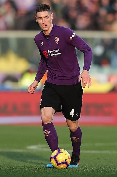 The young defender misses out for Fiorentina due to suspension