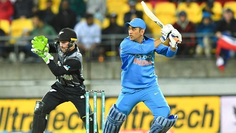 MS Dhoni remained unbeaten on 20 off 17 to propel India to victory
