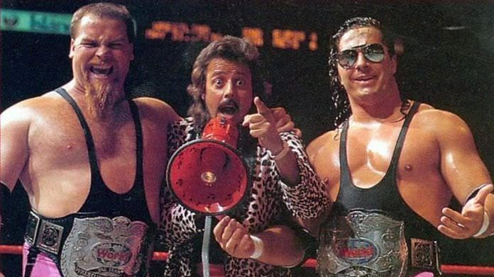 Jim Neidhart, Jimmy Hart and Bret Hart: The original Hart Foundation