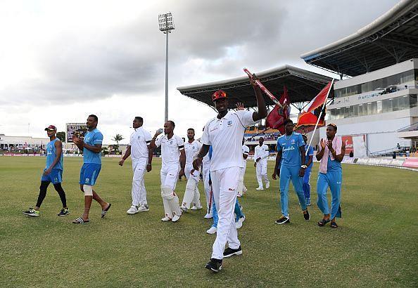 West Indies v England 2nd Test - Day Three