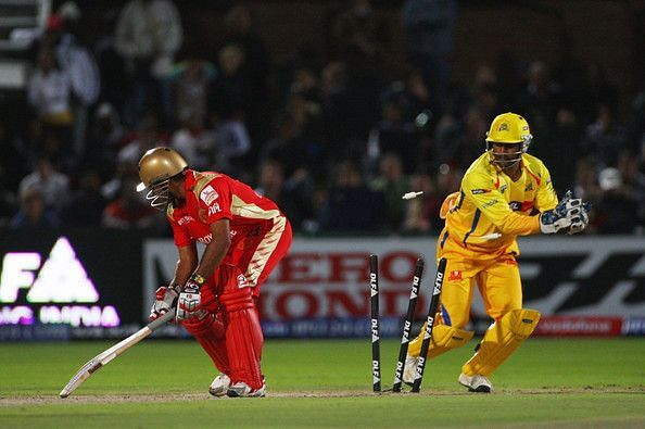 Dhoni has been lightning fast behind the stumps