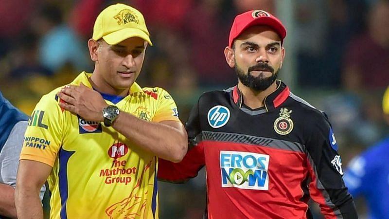 चित्र: महेंद्र सिंह धोनी (बाएं) और विराट कोहली (दाएं)