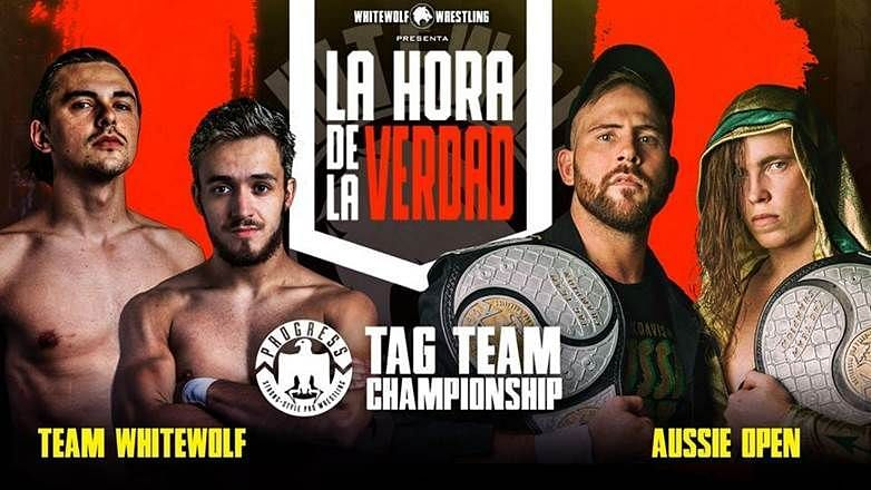 Team WhiteWolf vs. Aussie Open was the main event of the most important show in the history of Spanish wrestling