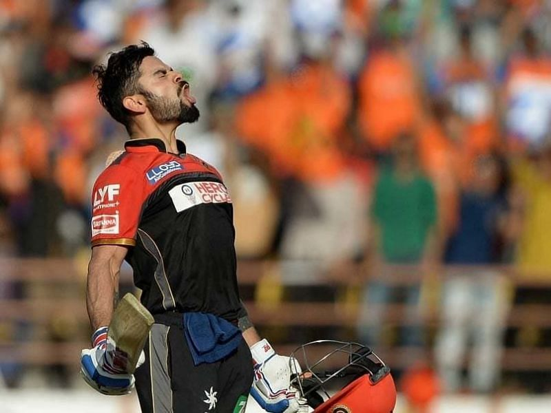 Kohli scored 4 IPL centuries which is next to Gayle