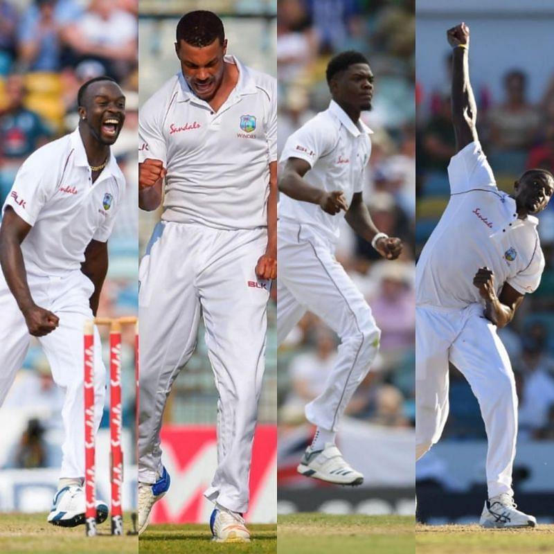 West Indies bowlers