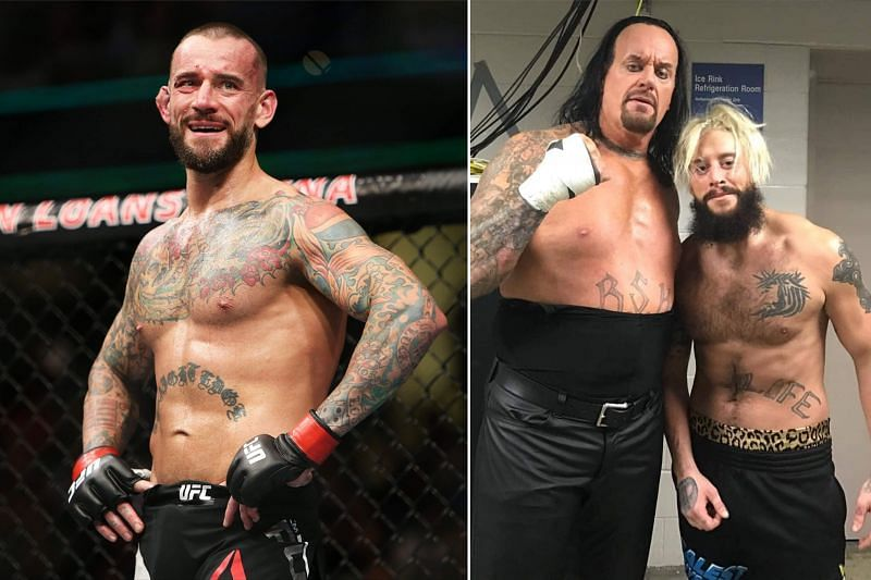 CM Punk, The Undertaker and Enzo Amore
