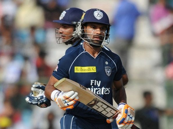 Shikhar Dhawan scored 24 runs for Deccan Chargers in that match